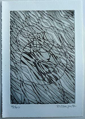 Matines Etching by Stanley William Hayter