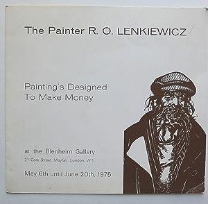 The Painter R.O.Lenkiewicz. Painting's Designed to Make: LENKIEWICZ, R.O.
