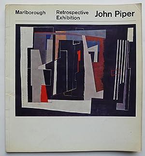 John Piper. Retrospective Exhibition. Marlborough New London: PIPER, JOHN.