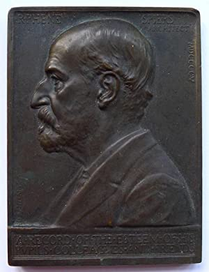 A plaquette made by Édouard Lantéri.