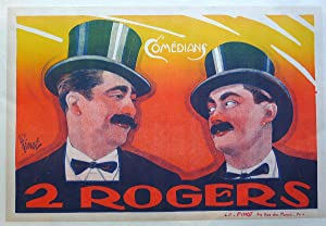 Two Rogers, theatre poster.