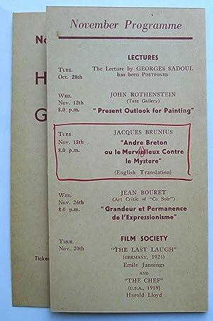 André Breton ou le Mervielleux Contre le: BRUNIUS, JACQUES