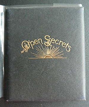 Open Secrets.: BENNETT, LUCY.