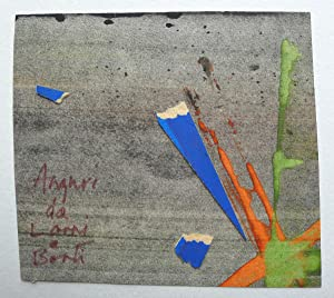 An original collage on card by Lorri, inscribed to Henry Roland, founder and partner in the noted...