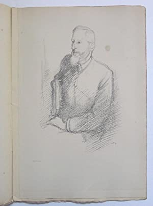 English Portraits. A Series of lithographed drawings by Will Rothenstein. Mr. Grant Allen.