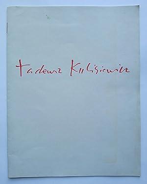 """Tadeusz Kulisiewicz. Zeichnet Bertolt Brechts """"Kaukasischen Kreidekreis"""".: KULISIEWICZ, TADEUSZ."""