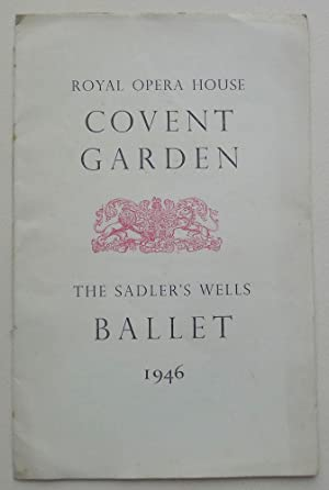 Sadler's Wells. Opera Ballet. Programme, April 10th 1946.