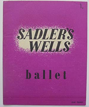 Sadler's Wells Ballet. Programme, Eight Weeks Season from July 24 (1944).