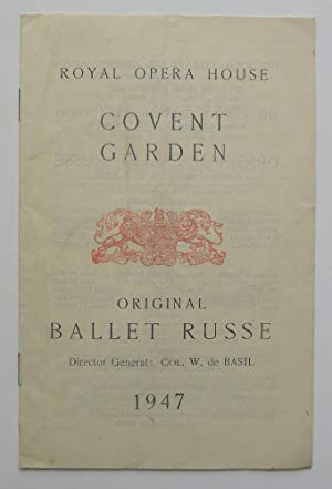 W. de Basil's Original Ballets Russes. Royal Opera House, London Tuesday, July 22nd, 1947. Les Sy...