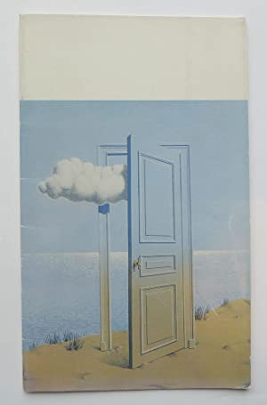 Magritte. One Man Show. Galerie Isy Brachot.: MAGRITTE, RENÉ.