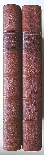 The Confessions of J.J. Rousseau in an: ROUSSEAU, J.J.