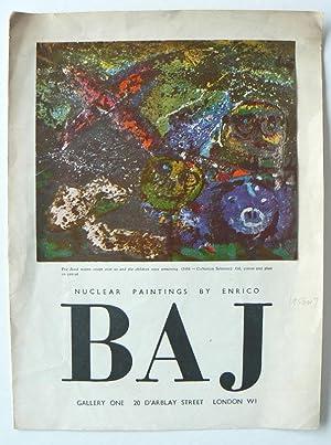 Nuclear Paintings by Enrico Baj.: BAJ, ENRICO.