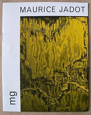 Maurice Jadot. Painted Wood and new Cold: JADOT, MAURICE.
