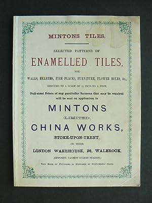 Mintons Tiles. Selected patterns of Enamelled Tiles.: MINTON.