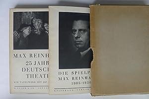 Max Reinhardt. 25 Jahre Deutsches Theater. Ein: REINHARDT, MAX.