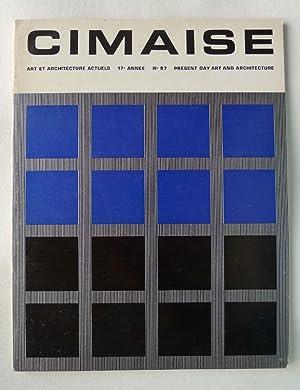 Cimaise. Art et Architecture Actuels. Present day: CIMAISE.