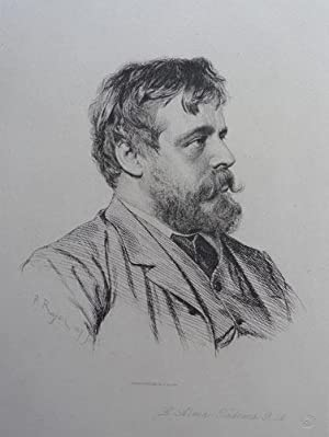 L. Alma-Tadema R.A. Drawn and etched by Rajon.