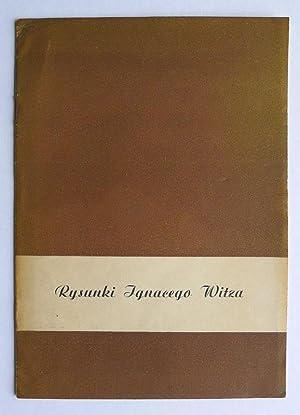 Rysunki Ignacego Witza. Klub Mlodych Artystów i: WITZA, IGNACEGO.