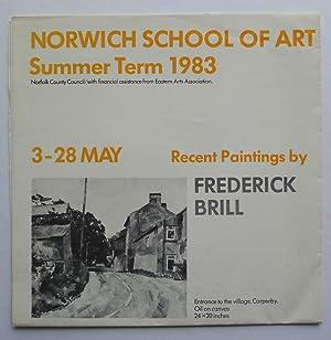 Norwich School of Art Gallery. Summer Term: IAN BREAKWELL.