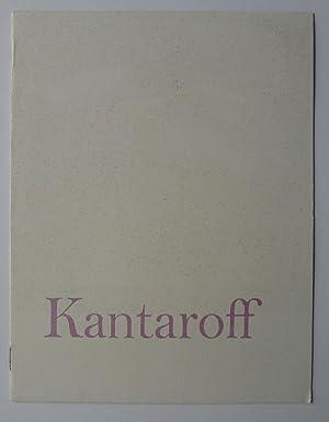 Kantaroff. Drian Galleries.: KANTAROFF, MARYON.