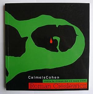 Calmels Cohen. Roman Cieslewicz. vente 19 mars: CIESLEWICZ, ROMAN.