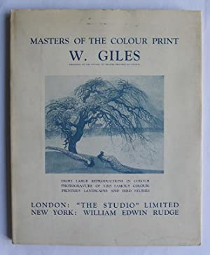 W.Giles. Masters of the Colour Print IV.: SALAMAN, MALCOLM.