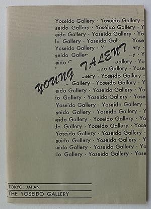 Young Talent. Catalog No.6. The Yoseido Gallery.: MODERN JAPANESE ART.