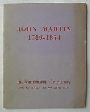 Exhibition of paintings and drawings John Martin: MARTIN, JOHN.