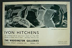 Ivon Hitchens. 7 April to 2 May: HITCHENS, IVON.
