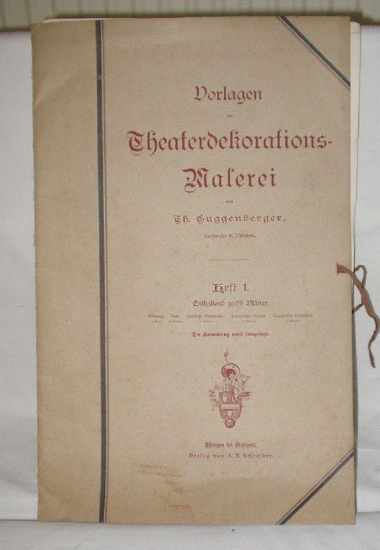 Vorlagen zur theaterdekorations malerei von th guggenberger verlag schreiber um 1920 - Vorlagen malerei ...