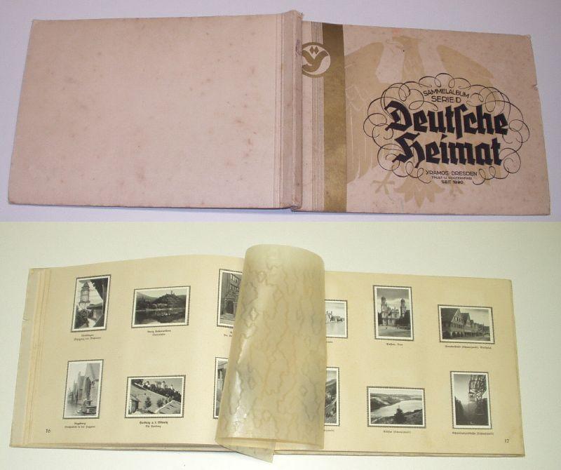 Deutsche Heimat. Sammelalbum Serie D: herausgegeben von: Yramos