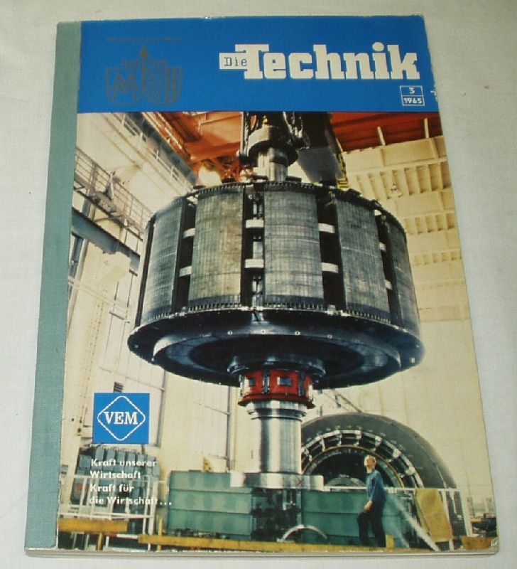 Die Technik Heft 3/1965: Kammer der Technik
