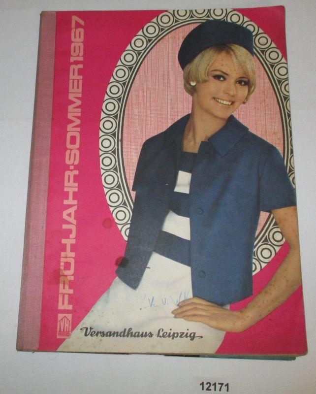 Elegant Katalog Frühjahr Sommer 1967   Versandhaus Leipzig: Versandhaus Leipzig