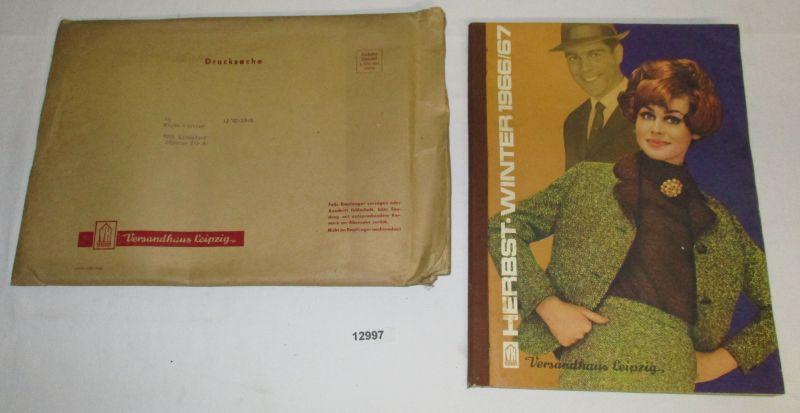a7f1ac07ef302a Katalog Herbst Winter 1966 67 - Versandhaus Leipzig  Versandhaus Leipzig