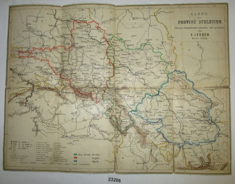 Bundesl303244nder Karte Ohne Namen.Karte Schlesien