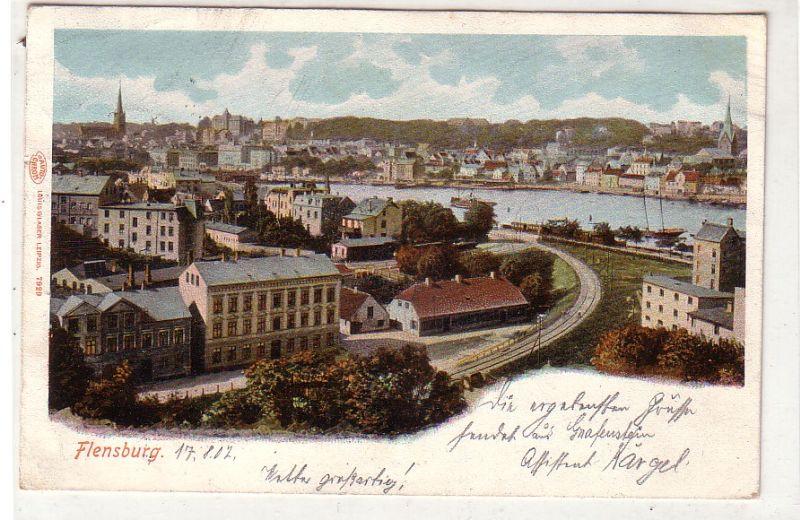 Ak Flensburg