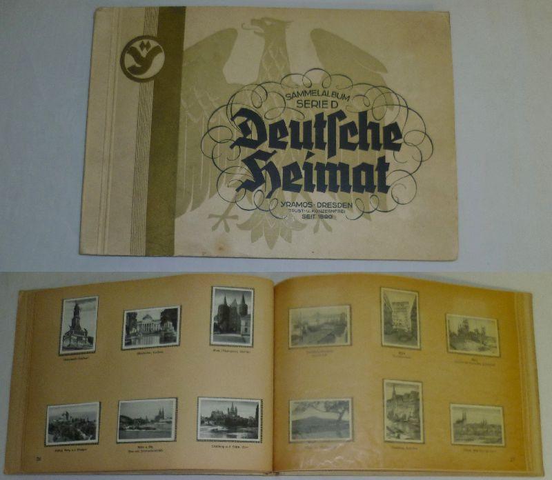 Deutsche Heimat - Sammelalbum Serie D: Yramos Zigarettenfabrik Dresden