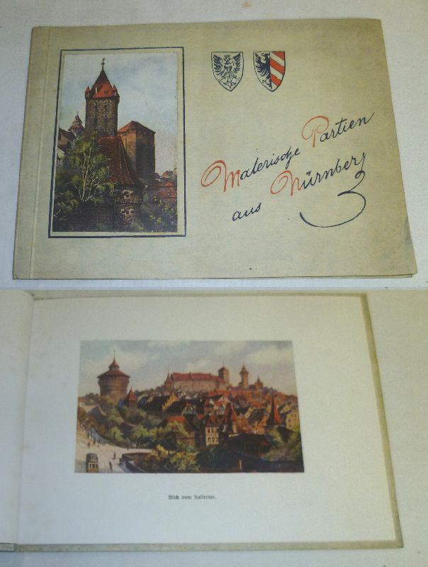 Malerische Partien aus Nürnberg. 15 Reproduktionen nach: kein Autor
