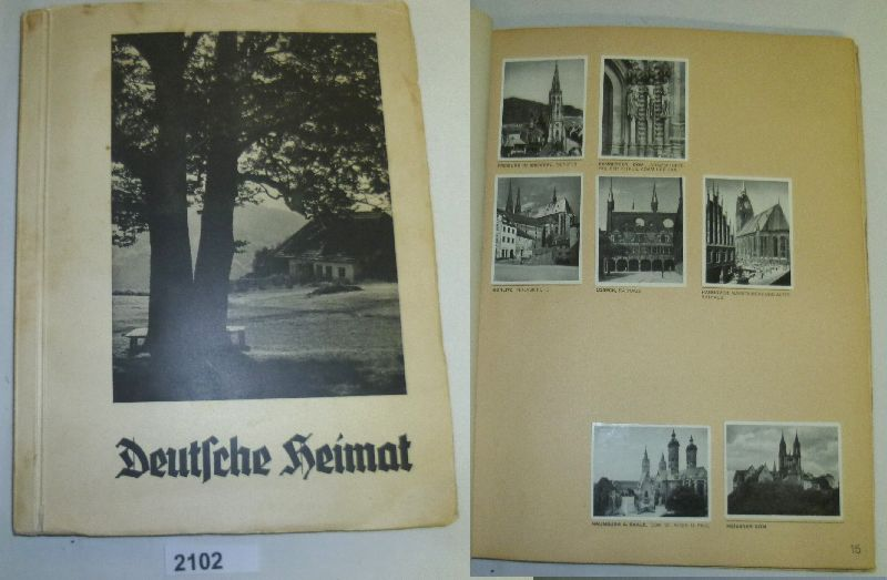 Deutsche Heimat - Eine Sammlung von 286: herausgegeben von Zigarettenfabrik
