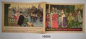 Mark Twain Bettler und Königssohn II - Weltberühmte Geschichten in Bildern: herausgegeben...