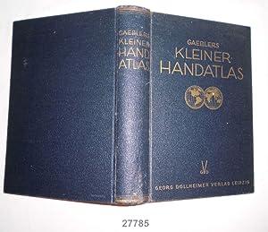 Gaeblers kleiner Handatlas über alle Teile der: Eduard Gaebler /