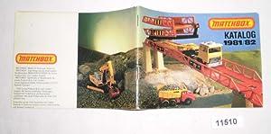 Matchbox Katalog 1981/82: Lesney Products &