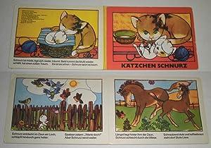 Kätzchen Schnurz (Bilderbuch): Text: Manfred Weise