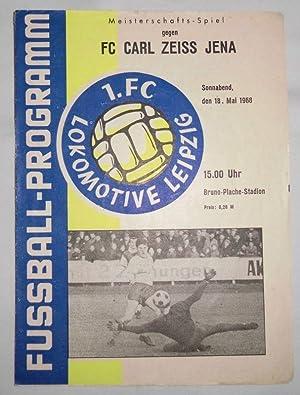 DDR Fußball Programm 20 1.FC Union Berlin Information 1-1978