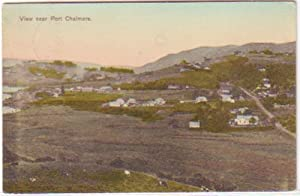 Postkarte Otago Harbour Port Chalmers Neuseeland