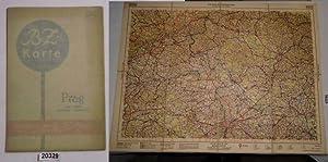 BZ Karte 42 Prag (Saaz / Teplitz / Bodenbach / Reichenberg): herausgegeben von der ...