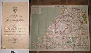 Sleeswijk's kaart van Zuid-Holland naar officieele gegevens: kein Autor