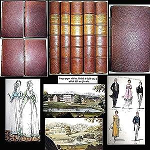 1923 THE NOVELS OF JANE AUSTEN 5: Jane Austen, R.W.