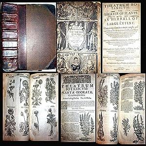 1640 THEATRUM BOTANICUM THE THEATRE OF PLANTS: John Parkinson