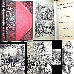 1869 AVENTURES D'ALICE AU PAYS DES MERVEILLES: Lewis Carroll, Henri